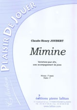 Claude-Henry Joubert - Mimine - Sheet Music - di-arezzo.co.uk