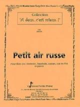 Petit air russe – Flûte ou clarinette, ... - laflutedepan.com