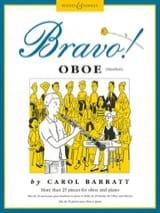 Bravo ! Oboe Carol Barratt Partition Hautbois - laflutedepan.com