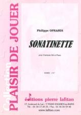 Philippe Oprandi - Sonatinette - Partition - di-arezzo.fr