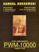 Polonaise - Samuel Kossowski - Partition - laflutedepan.com