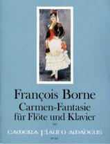 Carmen-Fantaisie François Borne Partition laflutedepan.com