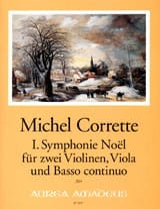 Symphonie Noël n° 1 -2 Violinen, Viola, Bc CORRETTE laflutedepan