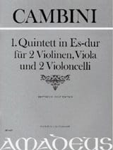 Quintett Nr. 1 in Es-Dur –Partitur + Stimmen - laflutedepan.com