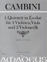 Quintett Nr. 1 in Es-Dur -Partitur + Stimmen laflutedepan
