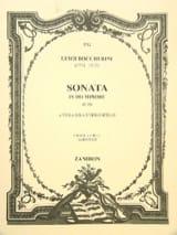 BOCCHERINI - Sonata en do mineur - Partition - di-arezzo.fr