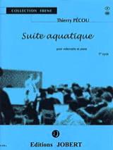 Suite aquatique Thierry Pécou Partition Violoncelle - laflutedepan.com