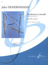 Jules Demerssemann - Introduction et Tarentelle op. 2 n° 5 - Partition - di-arezzo.fr
