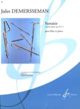 Jules Demerssemann - Fantasy op. 2 n ° 1 - Sheet Music - di-arezzo.com