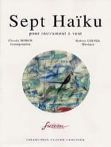 Sept Haïku Robert Coinel Partition Clarinette - laflutedepan.com