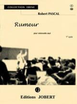 Rumeur Robert Pascal Partition Violoncelle - laflutedepan.com