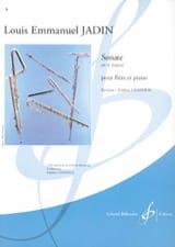 Louis-Emmanuel Jadin - Sonate en ré majeur - Partition - di-arezzo.fr
