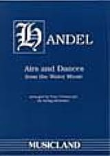 Airs and Dances from Water Music - String orch. laflutedepan.com
