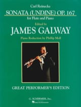 Carl Reinecke - Sonata Undine op. 167 (Galway) - Partition - di-arezzo.fr