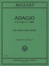 Adagio, Kv 580a - Wolfgang Amadeus Mozart - laflutedepan.com