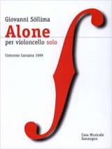 giovanni Sollima - Alone - Sheet Music - di-arezzo.co.uk