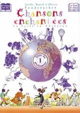 Chansons Enchantées Volume 1 - Prof. Partition laflutedepan.com