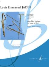 Louis-Emmanuel Jadin - Sonate en ré majeur op. 10 n° 1 - Partition - di-arezzo.fr