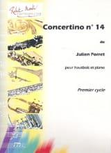 Concertino n° 14 Julien Porret Partition Hautbois - laflutedepan.com