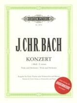 Johann Christian Bach - Alto Concerto in do minore con CD - Partitura - di-arezzo.it