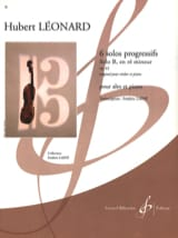 Hubert Léonard - Solo B in D minor op. 62 - Sheet Music - di-arezzo.com