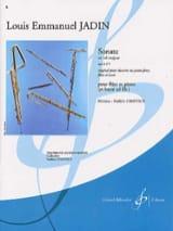 Sonate en sol majeur op. 10 n° 3 Louis-Emmanuel Jadin laflutedepan