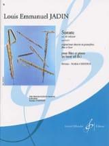 Louis-Emmanuel Jadin - Sonate en mi mineur op. 10 n° 2 - Partition - di-arezzo.fr