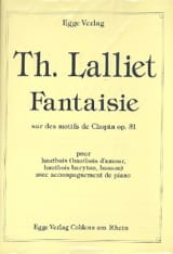 Théodore Lalliet - Fantasy On Chopin Patterns - Sheet Music - di-arezzo.com
