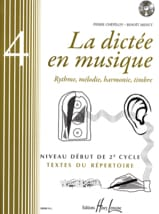 Pierre CHEPELOV et Benoit MENUT - The Dictation in Music Volume 4 - Sheet Music - di-arezzo.co.uk
