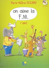 On Aime la FM - Volume 1 SICILIANO Partition laflutedepan.com