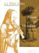 Sonate en ut mineur Louis Detry Partition laflutedepan.com
