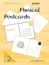 Junior Musical Postcards for Flute - Mike Mower's - laflutedepan.com