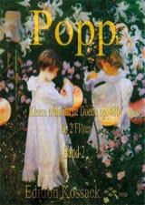 Kleine Melodische Duette Opus 480 Band 2 Wilhelm Popp laflutedepan.com