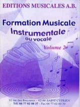 AB - FM instrumentale ou vocale, Volume 2 - Partition - di-arezzo.fr