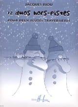 Jacques Riou - 12 Duos hors-pistes - Partition - di-arezzo.fr