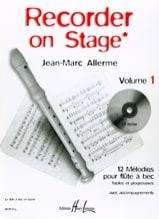Recorder on Stage – Volume 1 Jean-Marc Allerme laflutedepan.com
