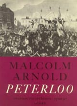 Malcolm Arnold - Peterloo op. 97 - Sheet Music - di-arezzo.co.uk
