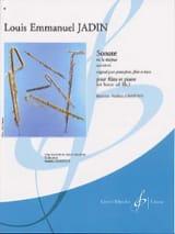 Sonate en la majeur op. 13 n° 2 Louis-Emmanuel Jadin laflutedepan