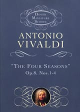 VIVALDI - The Four Seasons Op. 8 N ° 1-4 - Sheet Music - di-arezzo.co.uk