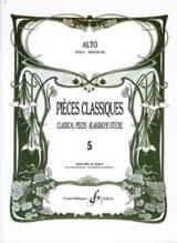 Frédéric Lainé - Pièces Classiques Volume 5 - Partition - di-arezzo.fr