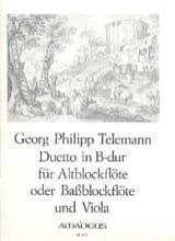 Duetto B-Dur – Altblockflöte (o. Bass—) u. Viola laflutedepan.com