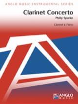 Clarinet Concerto - Philip Sparke - Partition - laflutedepan.com