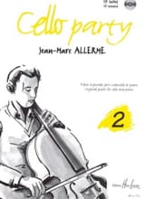 Cello Party, Volume 2 Jean-Marc Allerme Partition laflutedepan.com