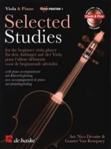 Selected Studies Viola - 2 CD Inclus laflutedepan.com