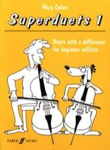 Superduets Book 1 – 2 Cellos - Mary Cohen - laflutedepan.com