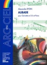 Alexandre Rydin - Aubade - Partition - di-arezzo.fr