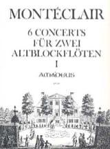 Six Concerts Pour Deux Flutes A Bec Band 1 laflutedepan.com