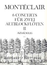 Six Concerts für 2 Altblockflöten - Bd. 2 laflutedepan.com
