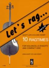 Let's Rag - Scott Joplin - Partition - Violoncelle - laflutedepan.com