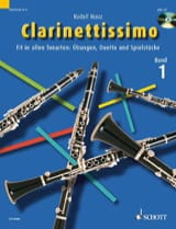 Rudolf Mauz - Clarinettissimo, Volume 1 - Sheet Music - di-arezzo.co.uk